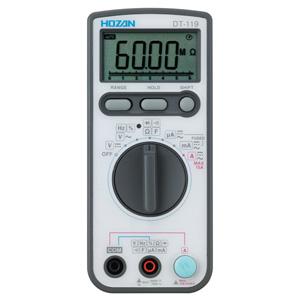 【送料無料】ホーザン HOZAN デジタルマルチメータ DT-119
