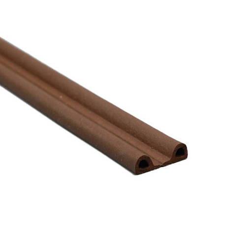 【送料無料】光 アイテック P型戸当テープ 茶 5.5×9mm 50m巻 KPT59-50