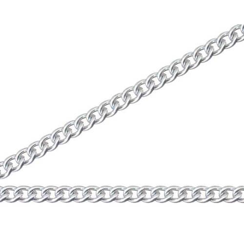 【送料無料】ニッサチェイン 銀色 アルミカラーチェン 30m AS30