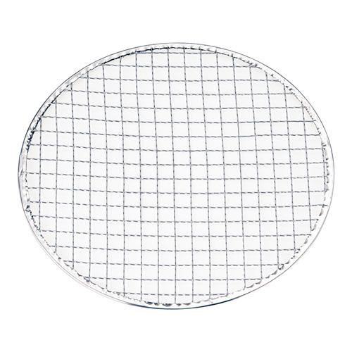 【送料無料】永田金網製造 使い捨て丸網 亜鉛引 200枚入 24.5cm QTK3601