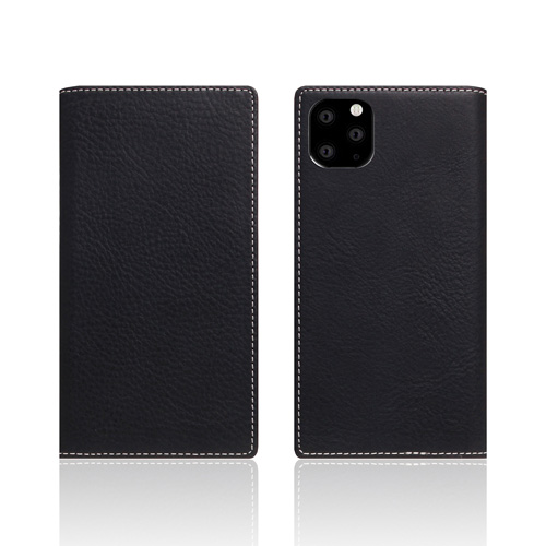 【送料無料】SLG Design iPhone 11 Pro 背面カバー型 Minerva Box Leather Case ブラック SD17868i58R