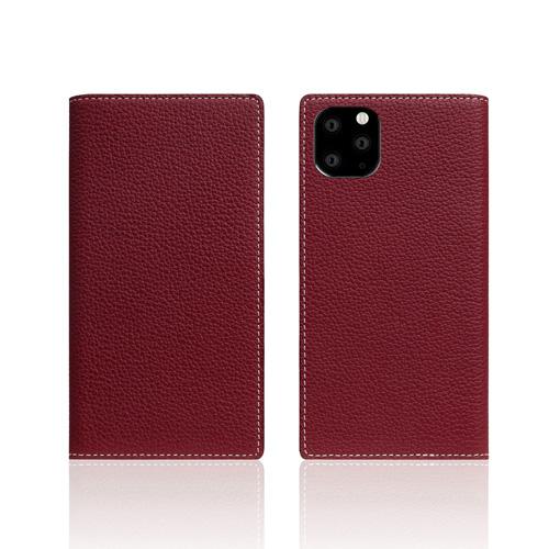 【送料無料】SLG Design iPhone 11 Pro 背面カバー型 Full Grain Leather Case バーガンディローズ SD17874i58R▽▼