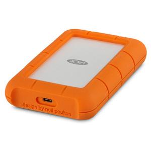 【送料無料】ラシー LaCie 耐衝撃HDD ハードディスク Rugged USB-C対応 USB3.1Gen1対応 オレンジ 4TB 2EUAPA