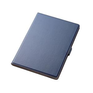 【送料無料】エレコム ELECOM iPad Air 2019年モデル / iPad Pro 10.5インチ 2017年モデル ソフトレザーカバー 360度回転 ネイビー TB-A19M360NV