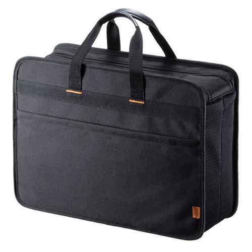 【送料無料】サンワサプライ らくらくスマホ預かりキャリー ブラック BAG-BOX7BK