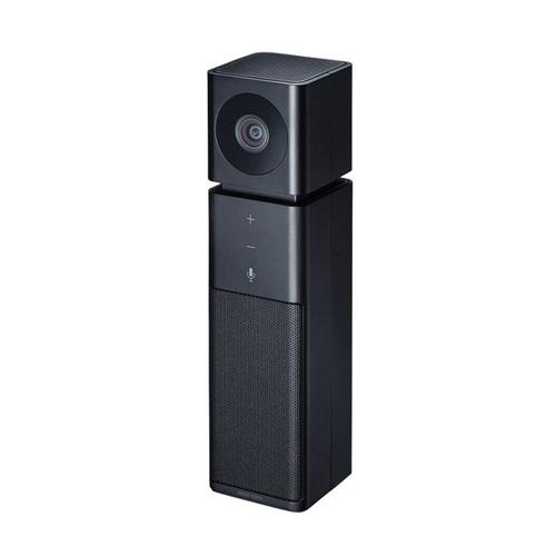 【送料無料】サンワサプライ カメラ内蔵USBスピーカーフォン CMS-V47BK