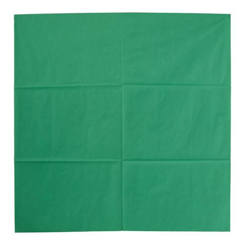 【送料無料】アートナップ テーブルクロス オリビア 100cm角 50枚入 グリーン UTCF114