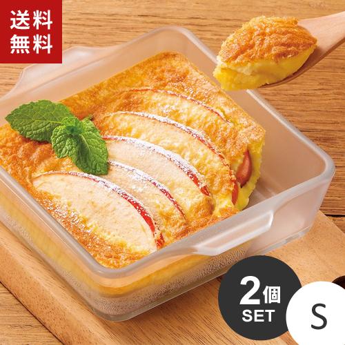 送料無料 あす楽 まとめ買い セラベイク スクエアロースター 定番から日本未入荷 S オーブンレンジ☆ こびりつきにくい K-9426 2個セット 格安激安 耐熱ガラス 電子レンジ