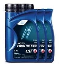 elfエルフオイル サスペンションオイルフォークオイル MOTO FORK OIL SYN モーターサイクル用フォークオイル 10%OFF elf 0.5L エルフオイル SAE粘度:2.5W ストアー