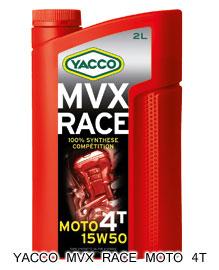 YACCOヤッコ 4サイクルオイル MVX RACE 贈物 MOTO YACCO ヤッコ 4T 15W-50 おすすめ特集 2L
