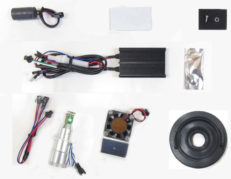 PROTEC プロテック LB7-BCG LEDヘッドライトバルブキット H7 C 650 GT