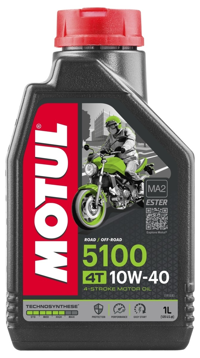 超安い MOTULモチュール 4サイクルオイル 格安SALEスタート 5100 4T 10W-40 モチュール MOTUL 容量:1L
