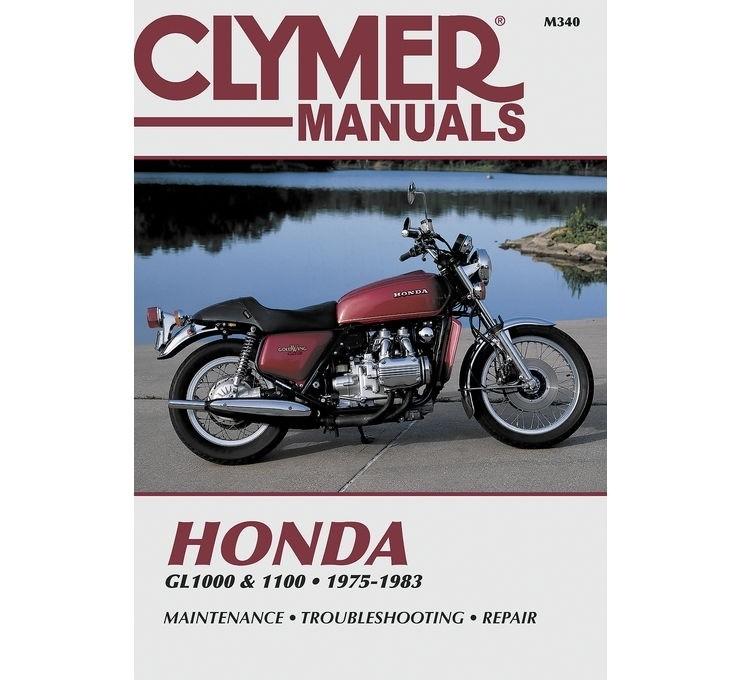 CLYMERクライマー サービスマニュアル Street Manuals 700340 CLYMER 即納送料無料 爆買い送料無料 Wing クライマー Interstate I GL1100 Gold
