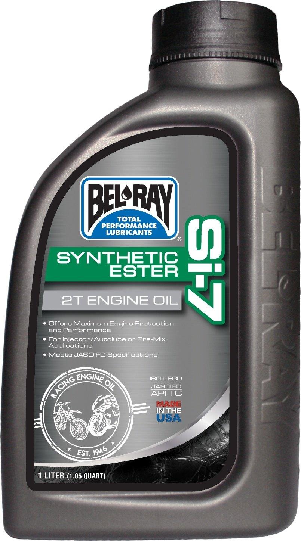 BEL-RAYベルレイ 2サイクルオイル Si-7 有名な Synthetic 2T Engine 国内即発送 Oil ベルレイ 1L BEL-RAY 合成2Tエンジンオイル