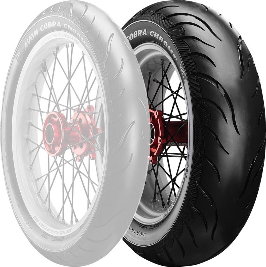 AVON エイボン Cobra Chrome AV92【180/70B15 76H TL】コブラクローム タイヤ