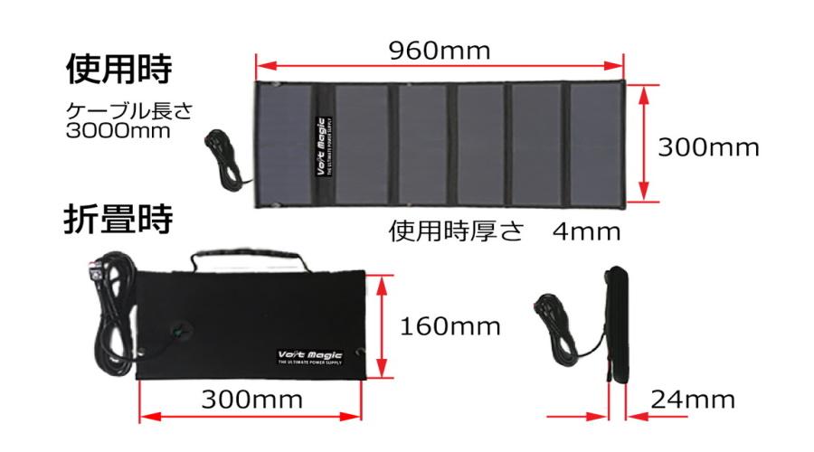 ボルトマジック VoltMagic ボルトマジック PB450 TOUGH バッグ・ソーラーセット