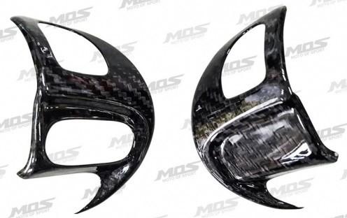 MOS モス Handlebar switch trim cover/Carbon fiber patch/Euro 6 emission Cygnus X