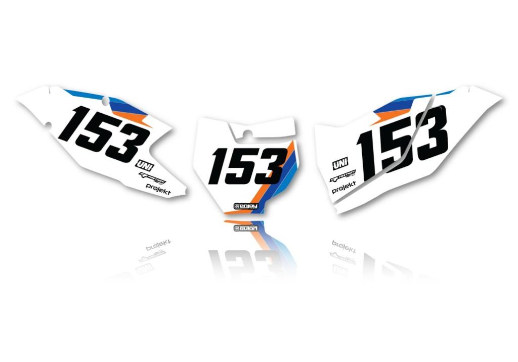 EnjoyMFG エンジョイ KTM オフィシャルチームデカールフルキット+シートカバー SX 65