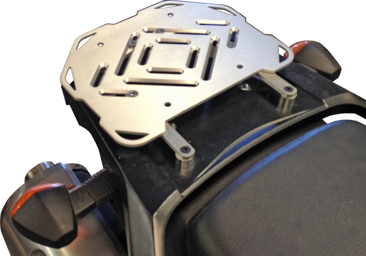 MOOSE RACING ムースレーシング EXPEDITION アルミ トップケースマウント【EXPEDITION ALUMINUM TOP CASE MOUNTS [1510-0222]】 DL1000 V-Strom DL650 V-Strom
