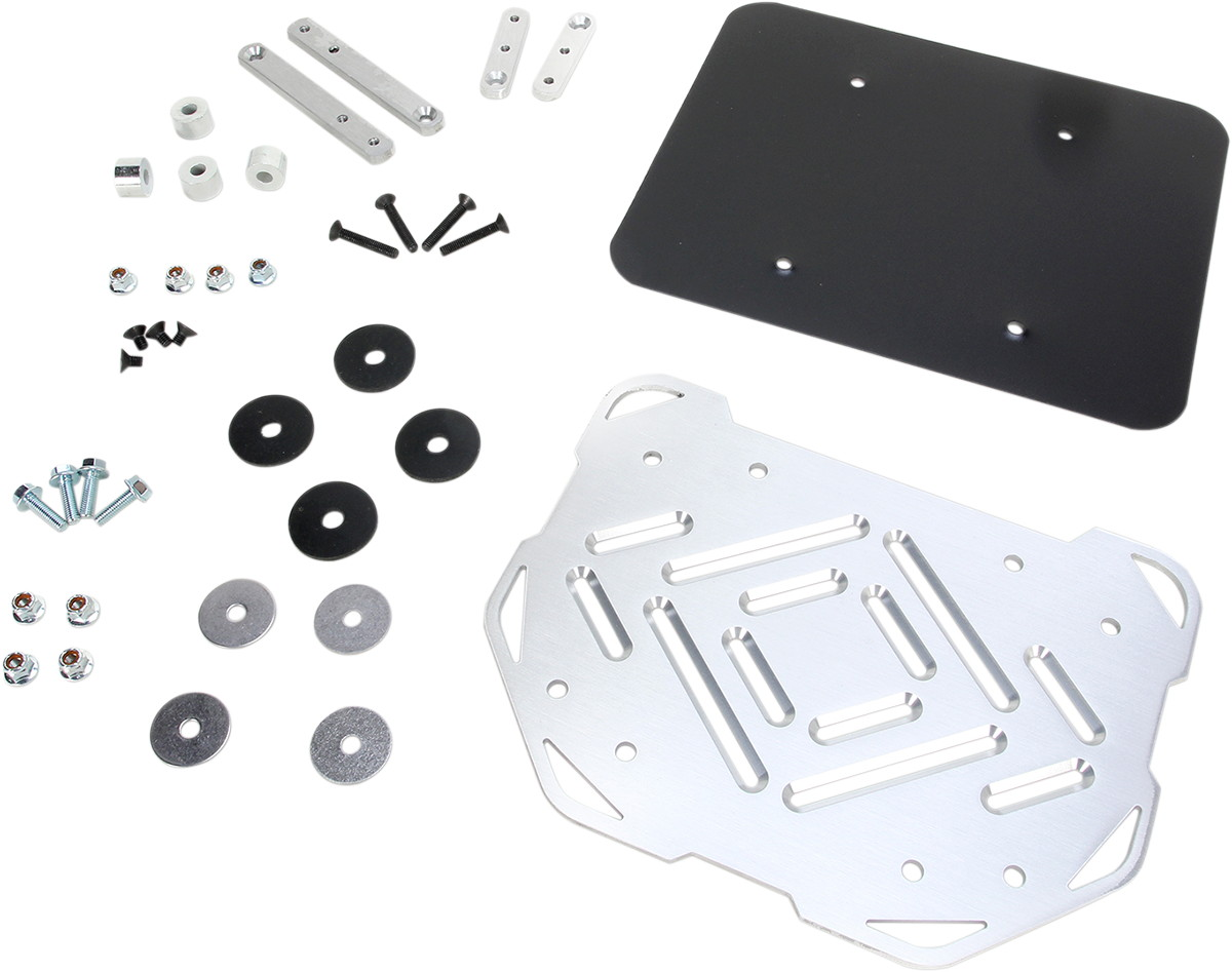 MOOSE RACING ムースレーシング EXPEDITION アルミ トップケースマウント【EXPEDITION ALUMINUM TOP CASE MOUNTS [1510-0223]】 DL650 V-Strom