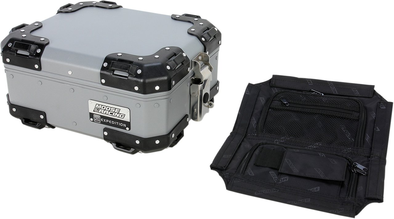 MOOSE RACING ムースレーシング EXPEDITION アルミ トップケース【EXPEDITION ALUMINUM TOP CASES [3516-0182]】