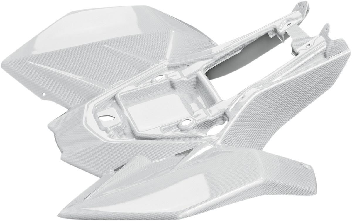MAIER メイヤー リアフェンダー ホワイトカーボンファイバー LTR450用【FENDER REAR LTR450 WCF [1404-0310]】 LT-R450 Quad Racer 2006 - 2009