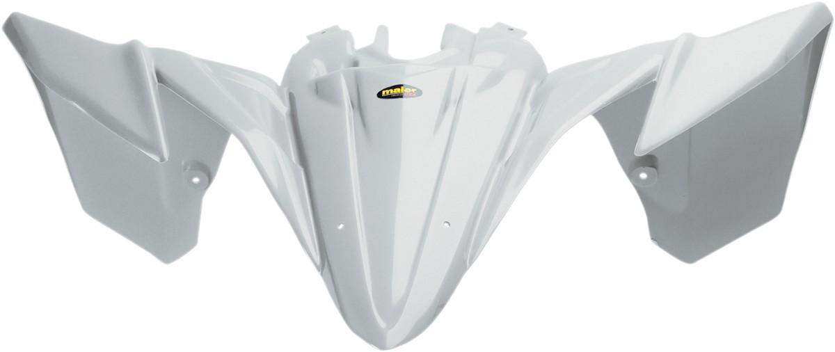 MAIER メイヤー フロントフェンダー ホワイト YFZ450R 2009用【FENDER FRT YFZ450R 09 WHT [1404-0407]】 YFZ450R 2009 - 2010