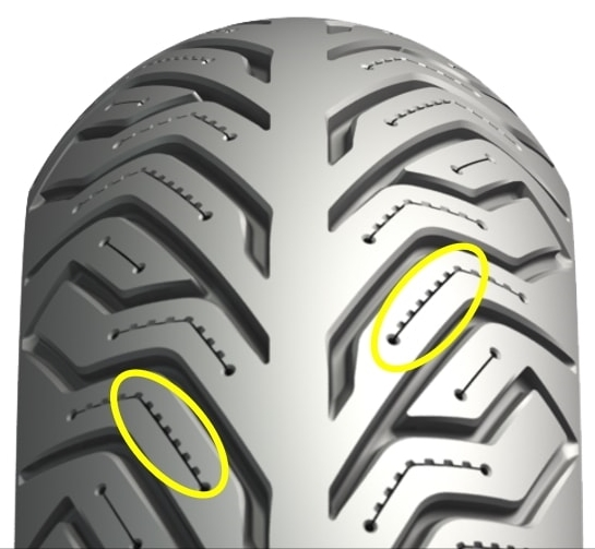 MICHELIN ミシュラン CITY GRIP 2 【110/70-16 M/C 52S TL】シティグリップ 2 タイヤ Tersely GT125i Tersely GT125i