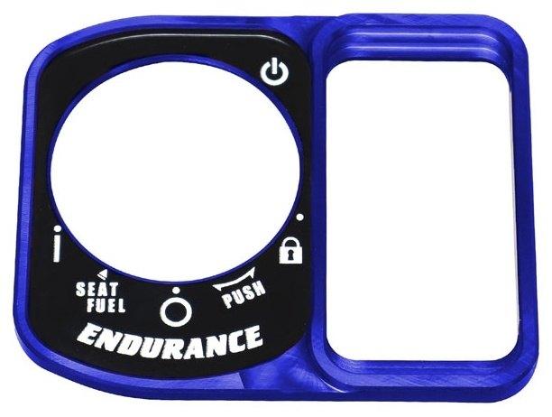 ENDURANCEエンデュランス キーシリンダーカバー スマートキーカバー ENDURANCE 新作通販 エンデュランス 代引き不可 カラー:ブルー PCX160 PCX ホンダ HONDA eHEV