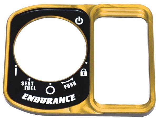 ENDURANCEエンデュランス キーシリンダーカバー スマートキーカバー ENDURANCE エンデュランス カラー:ゴールド HONDA 未使用 PCX160 ホンダ PCX 大人気 eHEV
