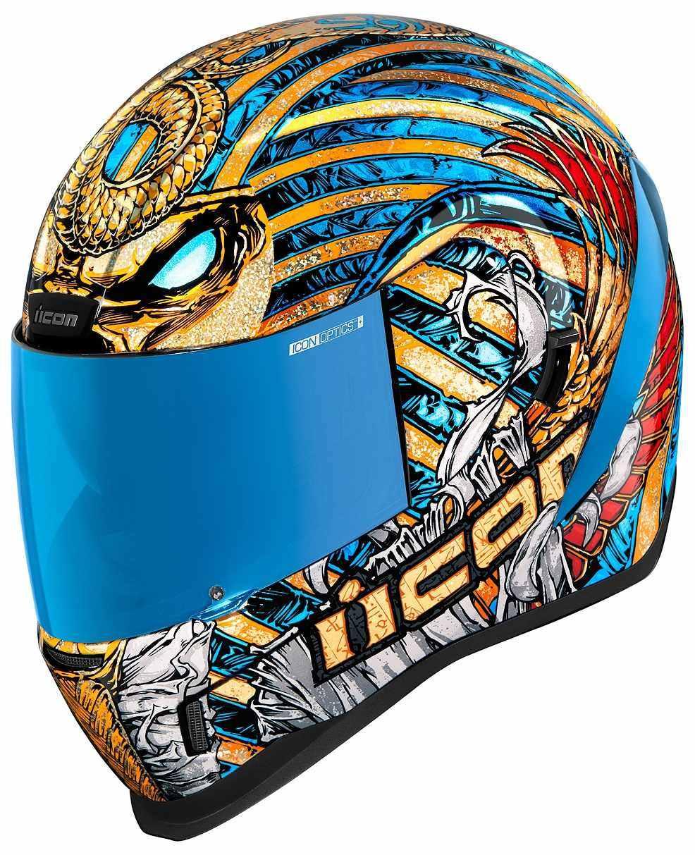 ICONアイコン フルフェイスヘルメット AIRFORM PHARAOH HELMET メーカー直売 エアフォーム 安心と信頼 ヘルメット ファラオ ICON アイコン サイズ:XL