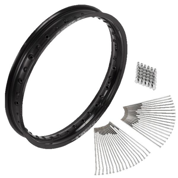 Z-WHEEL ズィーウィール アルミニウムリムセット RMX450Z RMZ250 RMZ450