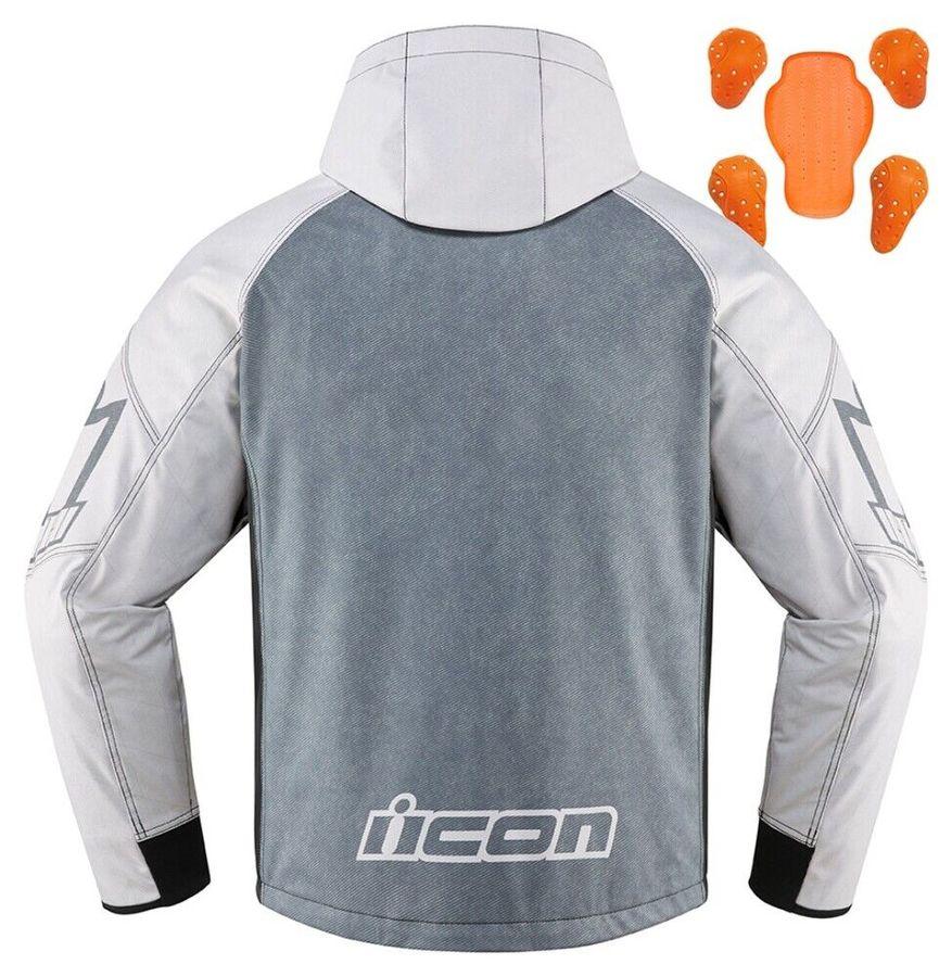 ICONアイコン オールシーズンジャケット MERC HS JACKET サイズ:MD 送料込 ICON セール特価 マーク ジャケット アイコン