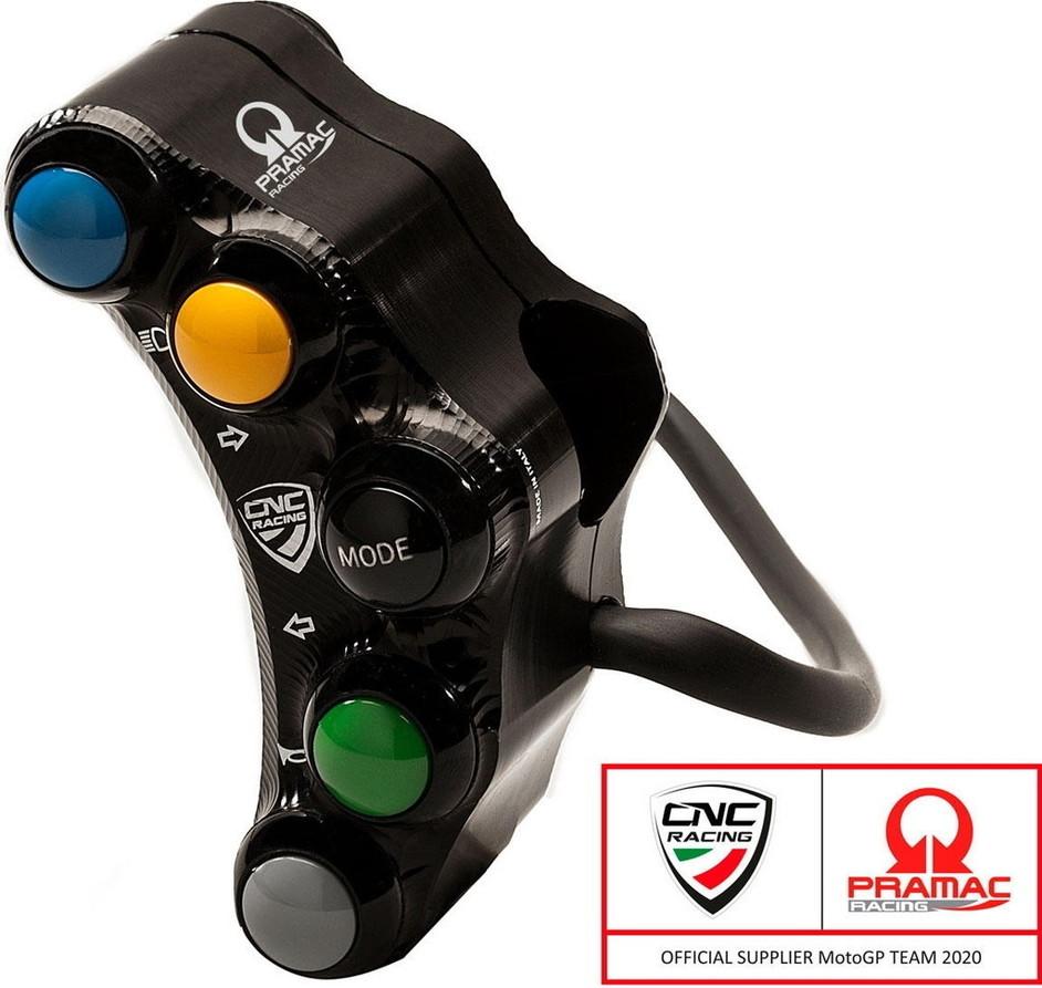 CNC Racing CNCレーシング 【プラマックレーシングリミテッドエディション】 左ハンドルバースイッチ - ストリート用