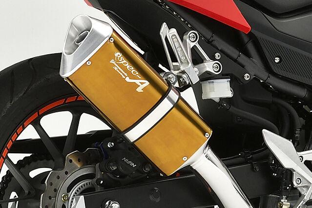 ヤマモトレーシング YAMAMOTO RACING SPEC-A スリップオンマフラー TYPE-SA CBR400R