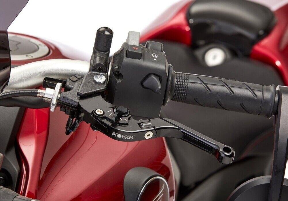 PROTECH プロテック brake lever  distance and length adjustable I foldable ER-6f ER-6f ER-6n ER-6n Versys 650