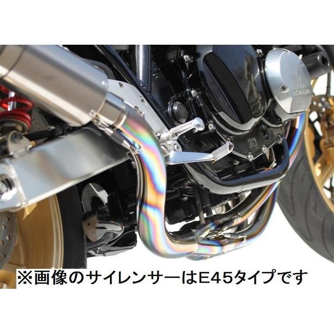 TSR テクニカルスポーツレーシング チタンフルエキゾースト E55 CB400スーパーフォア CB400スーパーボルドール