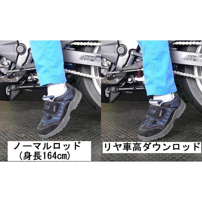 TSR テクニカルスポーツレーシング リア車高ダウンロッド CBR250R (2011-)