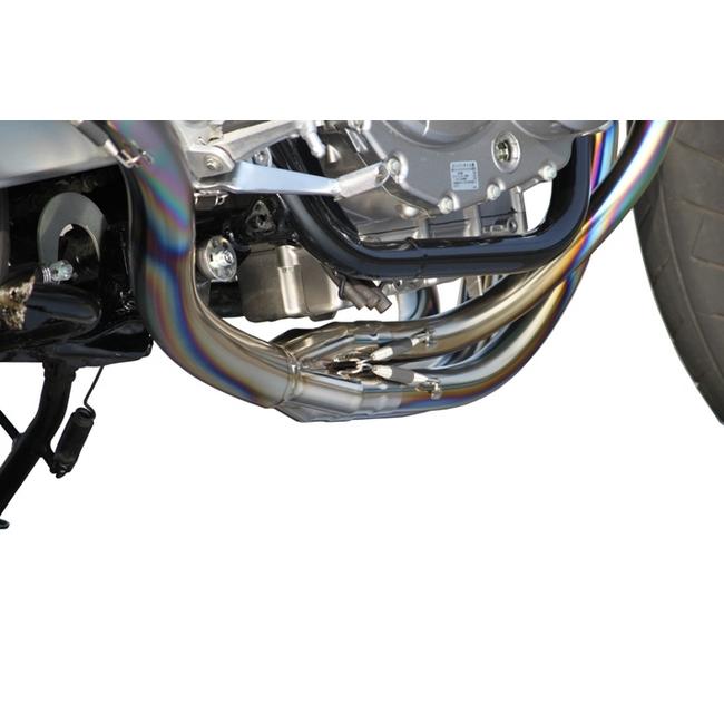 TSR テクニカルスポーツレーシング チタン手曲げフルエキゾースト E55 CB400スーパーフォア CB400スーパーボルドール