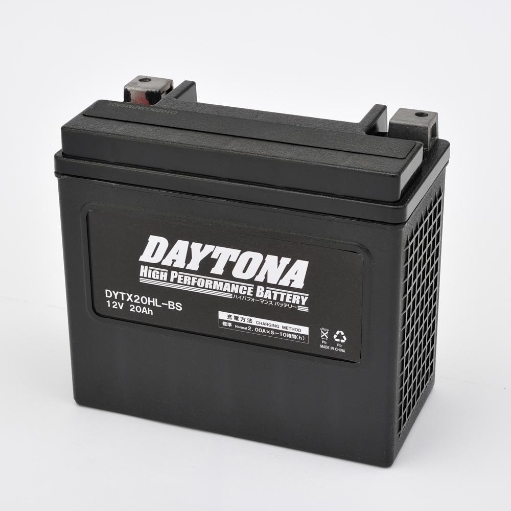 DAYTONA デイトナ ハイパフォーマンスバッテリー 液入り充電済 【DYTX20HL-BS】