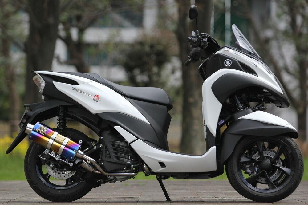 SP忠男 SP Tadao POWER BOX FULL(パワーボックスフル) SilentVersion(サイレントバーション) フルエキゾーストマフラー トリシティ