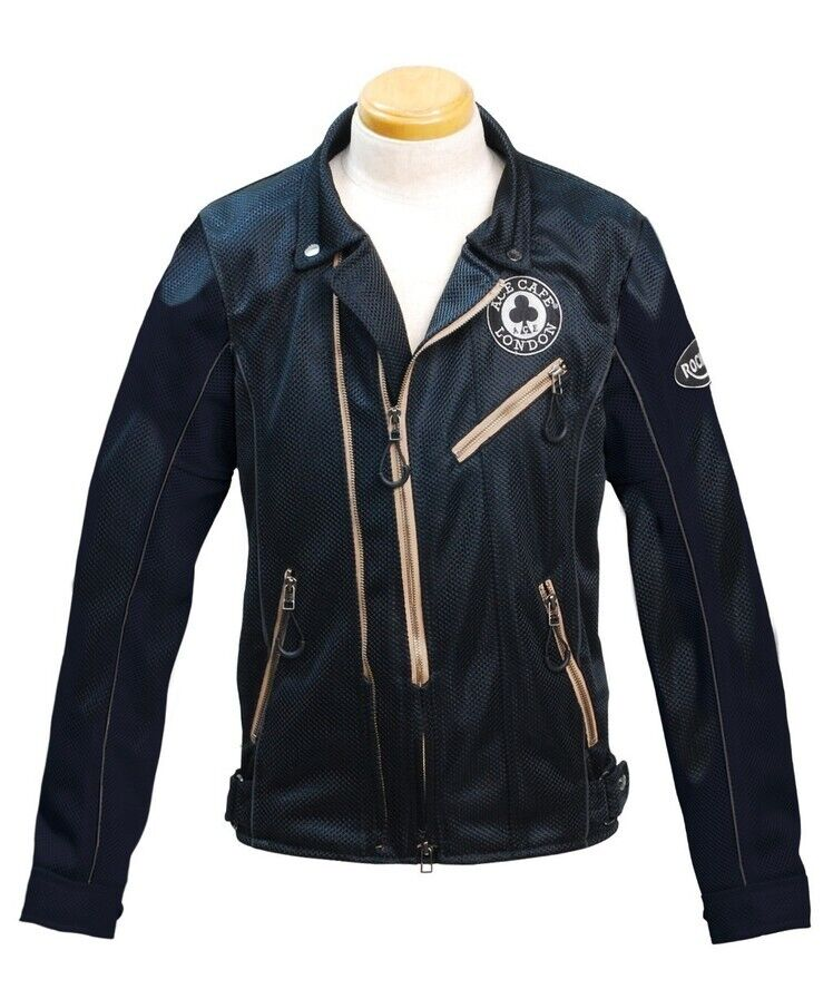 ACECAFE LONDON エースカフェロンドン Mesh W-Riders Jacket [メッシュ Wライダーズジャケット]