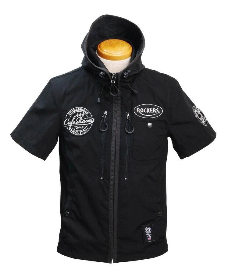 ACECAFE LONDON エースカフェロンドン T/C Half Sleeve Jacket [T/C ハーフスリーブ ジャケット]