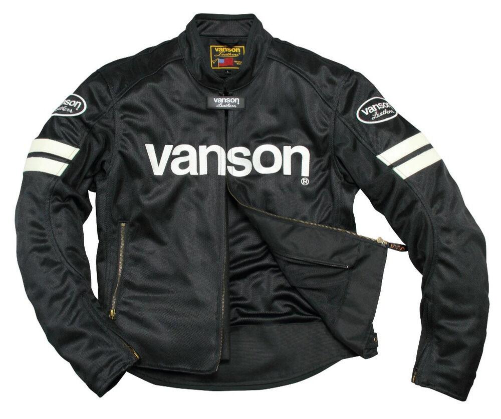 【在庫あり】VANSON バンソン メッシュジャケット
