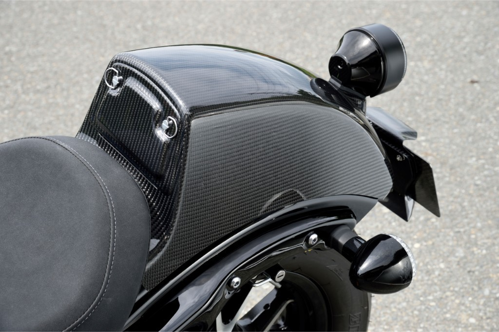 Magical Racing マジカルレーシング その他シートパーツ タンデムシートカバー タイプ:平織カーボン製 BOLT