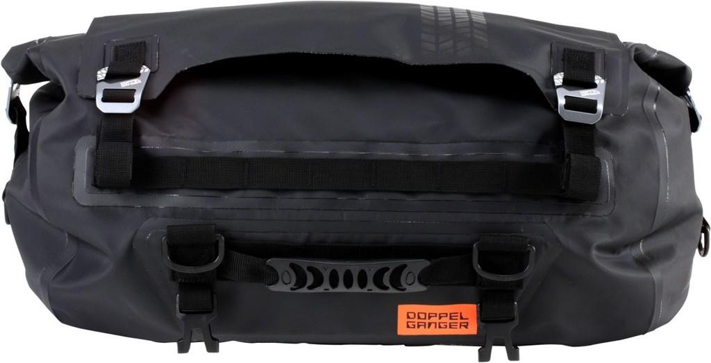 DOPPELGANGERドッペルギャンガー シートバッグ お得クーポン発行中 ターポリンツーリングドラムバッグ DOPPELGANGER カラー:ブラック ドッペルギャンガー おすすめ特集