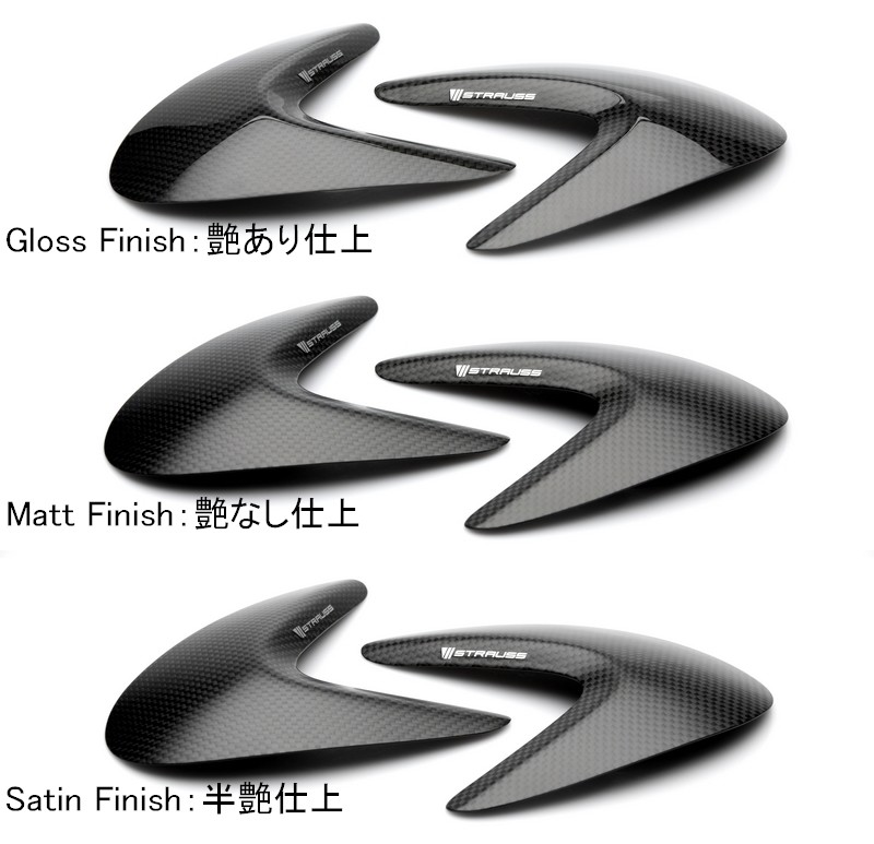 STRAUSS ストラウス EXHAUST CAPS (L+R) PANIGALE 1299 R PANIGALE 1299 S PANIGALE 959
