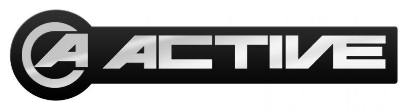ACTIVEアクティブ ステッカーデカール  ACTIVE メタルタイプロゴステッカー ACTIVE アクティブ ACTIVE メタルタイプロゴステッカー