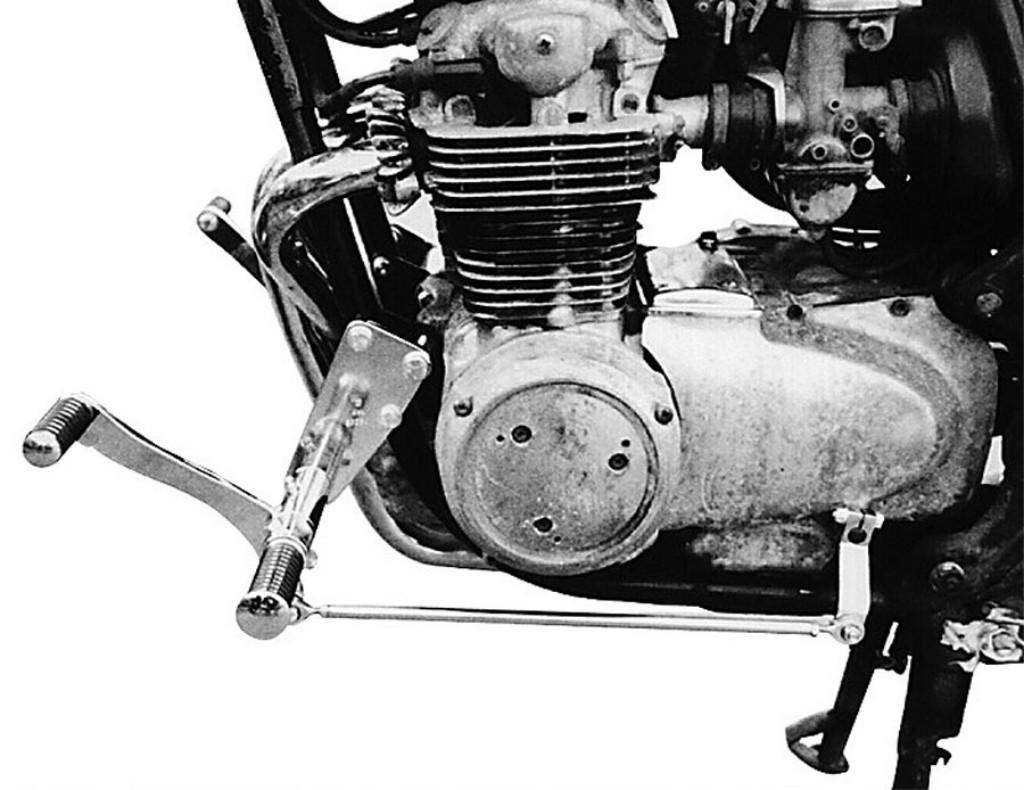 MOTORRAD BURCHARD モトラッド バーチャード Forward Controls Kit 35cm forward TUV CB 500 Four CB 550 Four CB 550 Four CB 550 Four