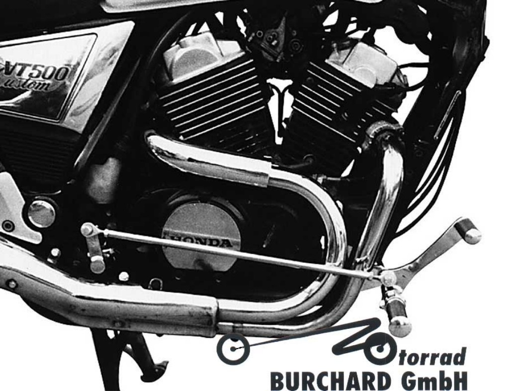 <title>MOTORRAD BURCHARDモトラッド 絶品 バーチャード フットペグステップ Forward Controls Kit 32cm forward TUV BURCHARD モトラッド VT 500 C</title>